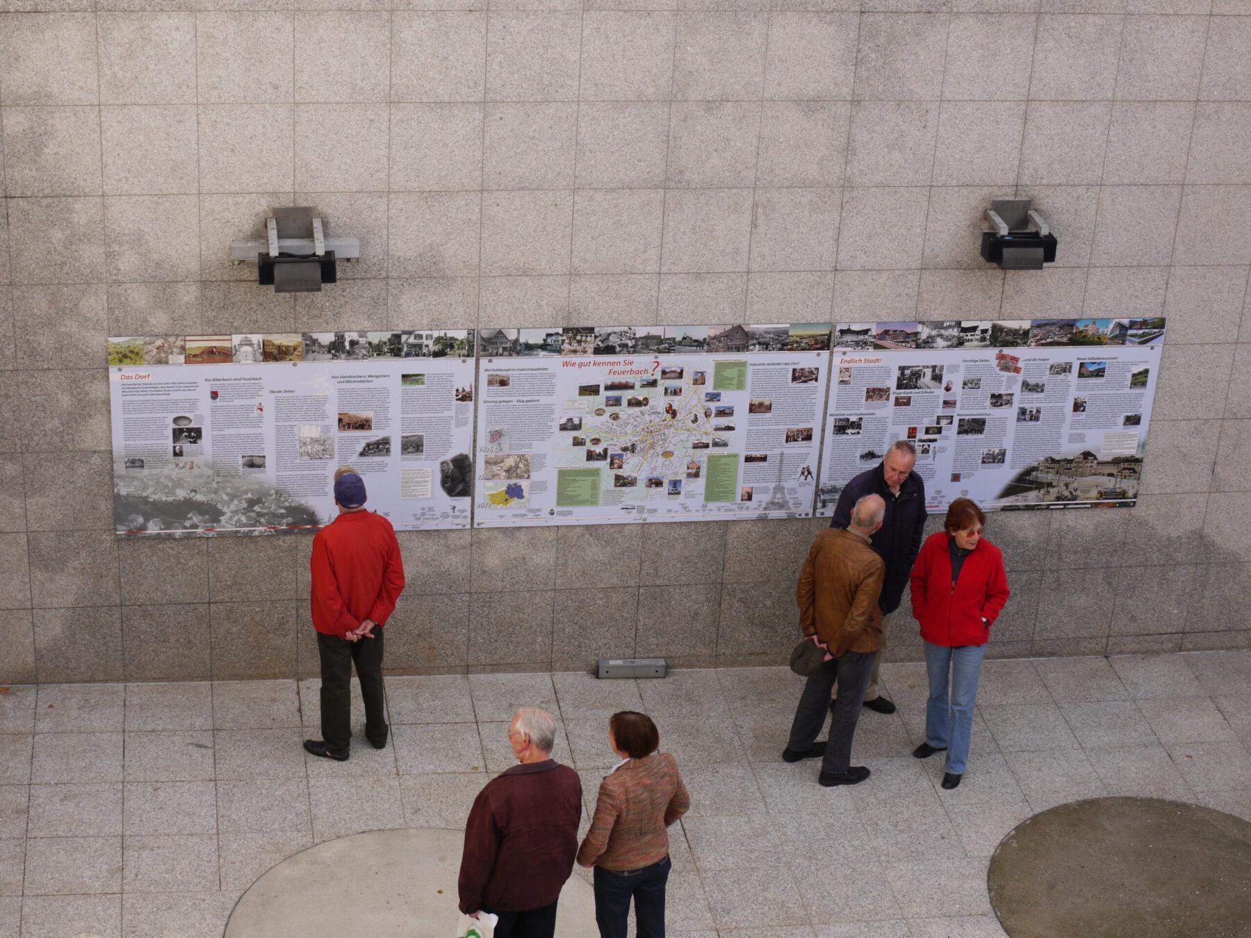Reise durch die Feuerbacher Geschichte