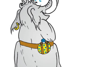 Mammut duscht lieber